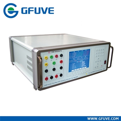 China Three Phase Portable Panel Power meter Calibrator with AC DC voltage and current source supplier