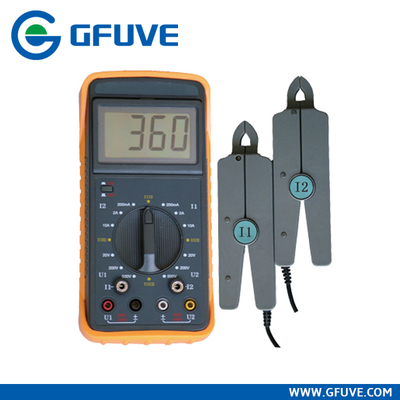 Double Clamp Phase Volt-ampere Meter