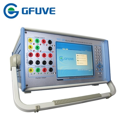 PORTABLE THREE PHASE SECONDARY CURRENT INJECTION PROTECTION RELAY TESTER WITH Harmonic test
